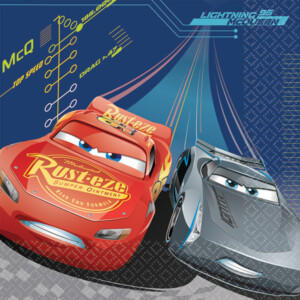 CARS 3 LUNCH NAPKINS - 511763